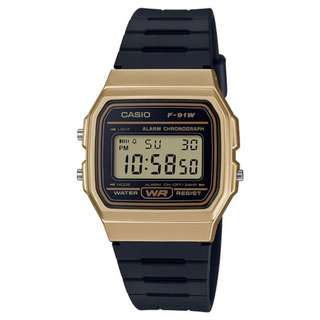 Casio F91WM-9A Black Resin Strap Watch For Men and Women - COD FREE SHIPPING