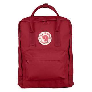 FJALLRAVEN KANKEN CLASSIC BACKPACK - DEEP RED