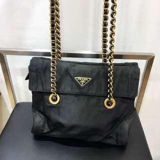 Prada Tessuto Nylon Evening Bag