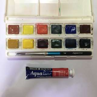 Aquafine watercolour