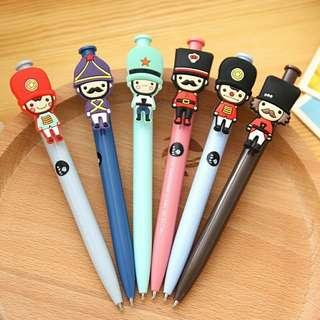 British Soldier Pens