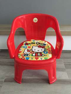 Hello Kitty Stool / Chair for Baby