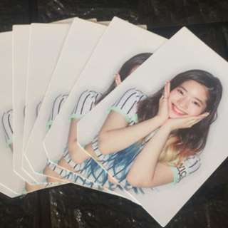 ON HAND OFFICIAL TWICE Page Two - Flower ver - Photocard (DAHYUN, SANA, CHAEYEON)