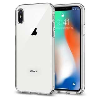 iPhone X Spigen Liquid Crystal Case