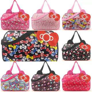 Hello Kitty Water Resistant Large Travel, Gym Bag