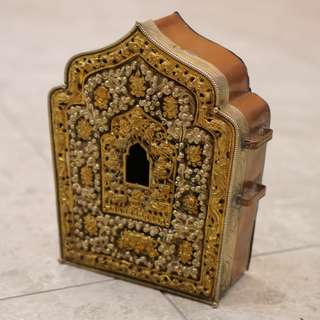 Burmese Brass Box