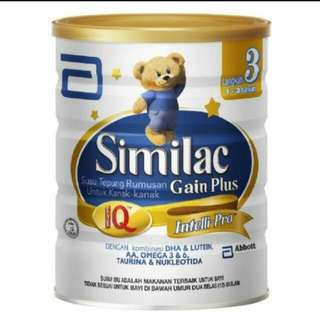 Similac Stage 3 1.8kg (Made In Singapore For Malaysia)