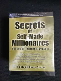 Secrets of self made millionaire in audio CDs 12 discs