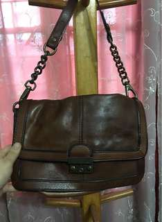Fossil chain bag