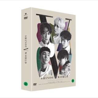 SHINee world v in Seoul dvd
