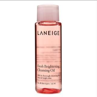 Laneige Fresh Brightening Cleansing Oil 25ml