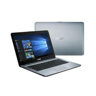 kredit laptop X441UV ram 4gb win 10 Ori core i3