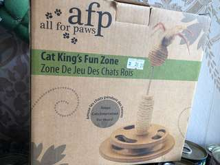 AFP King's Fun Zone Scratcher for Cats