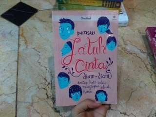 Novel Jatuh cinta diam diam by Dwitasari #umn2018