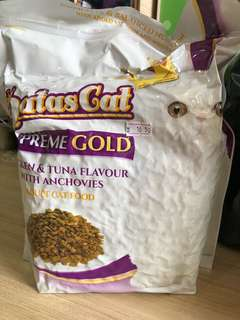 Aatas Cat Supreme Gold Chicken & Tuna with Anchovies 1.2kg