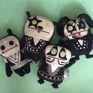 Uglydoll x KISS plush