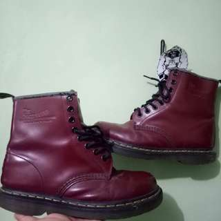 Dr martens maroon size 37