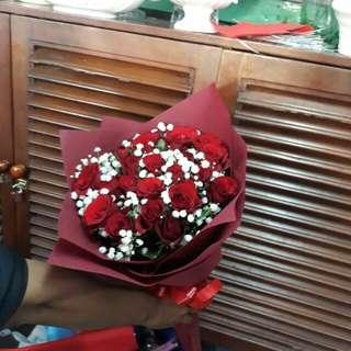 Handbuqet mawar/bunga wisuda