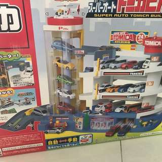 Takara Tony Carpark set