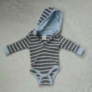 Infant hoody onesies