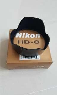 HB-8 Nikon Bayonet Lens Hood