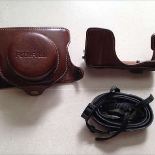 fuji leather case for x10x20x30