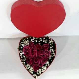 Bunga box mawar/kado ultah