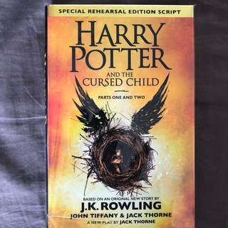 Harry Potter and the cursed child (Special Rehearsal Edition Script)