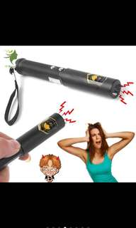 Electric shock batons stick flashlight