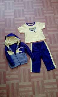 Puma hoodie,shirt & jogging pants set