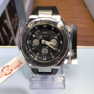 CASIO G-SHOCK GST-S310-1A(太陽能)