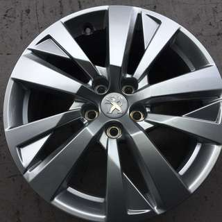 "Pre-Owned 17"" Original Peugeot Sports Rim"