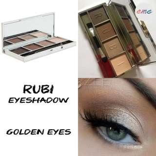 BN Rubi Nude Eyeshadow Palette Golden Eyes