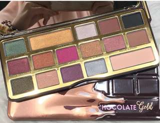 Too Faced Chocolate Eyeshadow‼️FREE NORMAL MAIL‼️