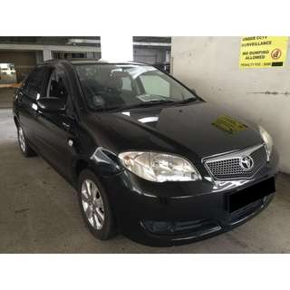 09/03-12/03/2018 TOYOTA VIOS ONLY $180.00 ( P PLATE WELCOME)