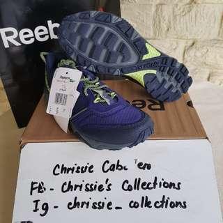 BNIB Authentic Reebok Trail Run Women's sz y & 5.5