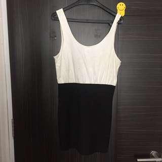 Backless mini dress