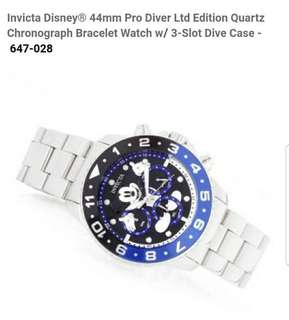 Invicta Disney Limited edition watch