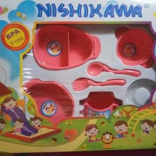 nishikawa all in one baby feeding set