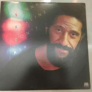 Sonny Rollins – Don't Ask, Vinyl LP, Milestone Records – M-9090, 1979, USA