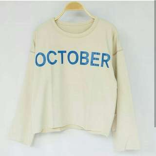 Month Loose Sweater