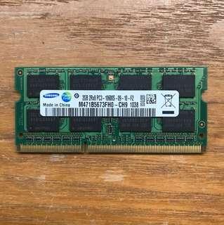 Samsung DDR3 2GB PC3-1600S