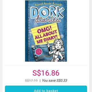 Dork Diaries- OMG ALL ABOUT ME DIARY!!