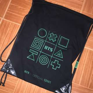 ON HAND SEALED BTS GLOVE BAG (Note: with cards and standee as freebie!)