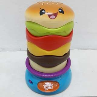 Brights Starts Spinning Burger