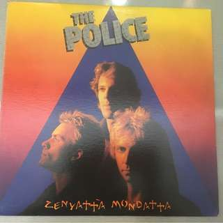 Police ‎– Zenyatta Mondatta, Vinyl LP, A&M Records ‎– SP-3720, USA