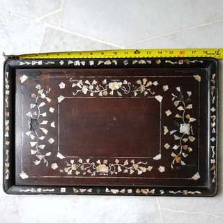 Mother pearl frame tray