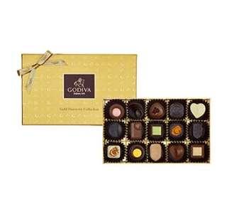 GODIVA Gold Discovery 巧克力禮盒 15 顆裝