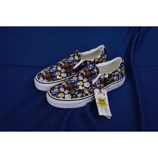 VANS SLIP ON PEANUTS CHARLIE BROWN SNOOPY