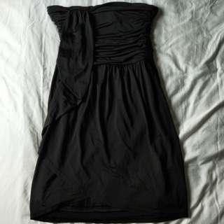 Petite tube prom dress